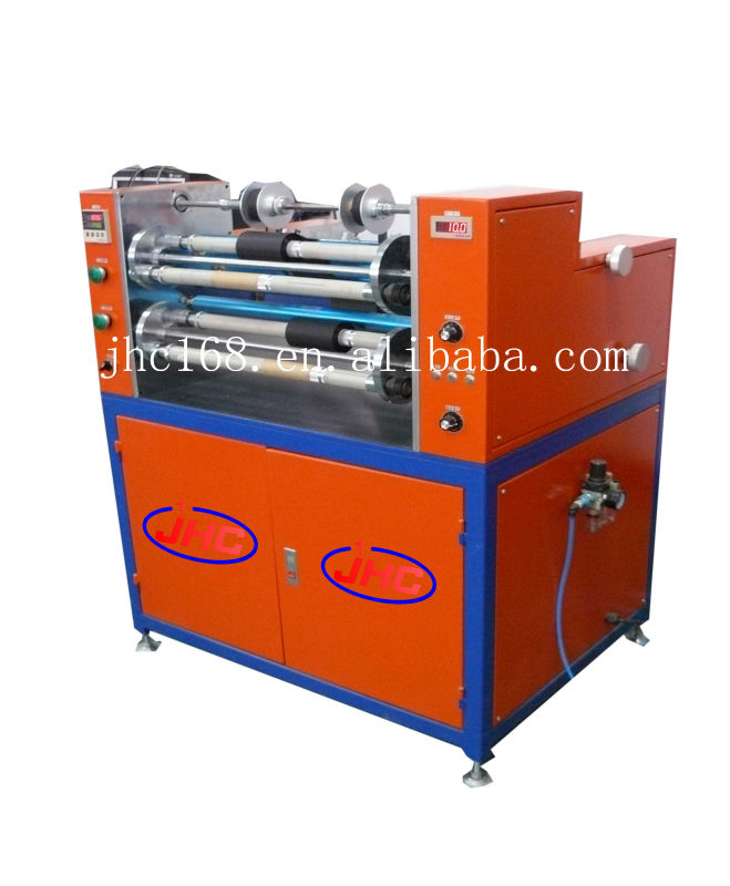 Hot selling TTR tape roll slitter rewinder with max width 470mm