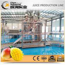 mango juice production plant (fruit juice processing line)