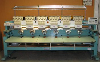 Tajima TMFX C1206 for sale Embroidery machine