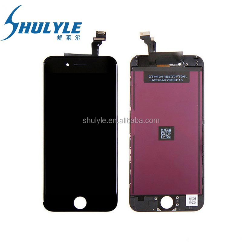 Mobile Phone LCD Digitizer China Manufacturer for iphone 6 LCD Display Touch Screen Replacement assembly