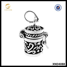 Fashion Silver Jewelry 925 Sterling Silver New Prayer Box Pendant