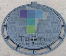 EN124 A15 B125 C250 D400 E600 Ductile Iron Locking Manhole Cover and Frame