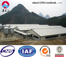 Light Steel Prefabricated Chicken Shed/pig house