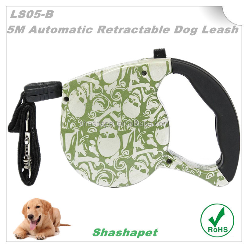 Hot new products for 2017 wih 5M automatic retractable dog Lead