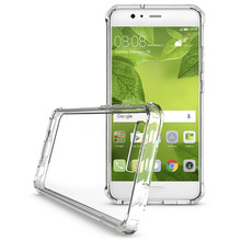 Bumper Clear acrylic Back Cover For huawei P10 Case , For Huawei Smartphone P10 Clear TPU Case