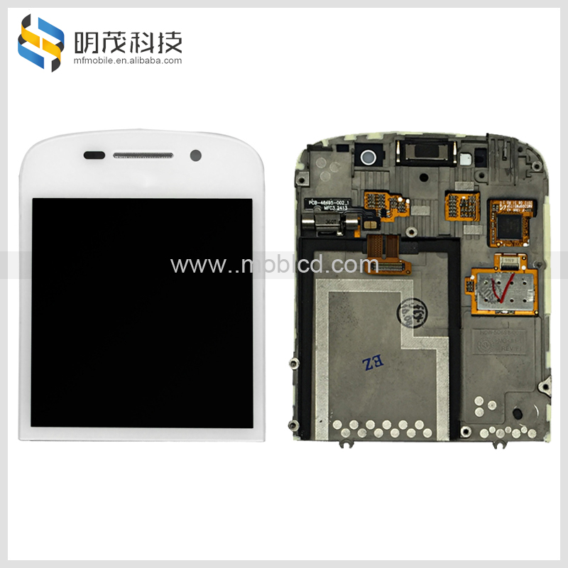 Original mobile <strong>phone</strong> lcd touch screen digitizer assembly for <strong>blackberry</strong> <strong>Q10</strong> lcd