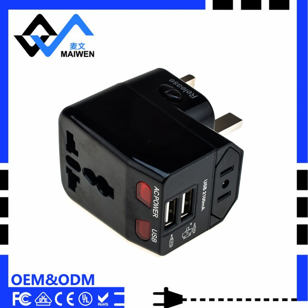 Dual USB adapter electronic gift items
