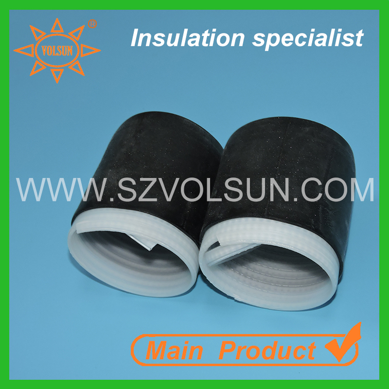 Insulation Super Sealing Cold Shrink Cap VS Heat Shrink End Cap