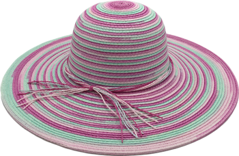 Wholesale New Style Summer Beach Paper Straw Hat For Ladies