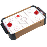 Mini TableTop air hockey,Mini wooden air hockey table