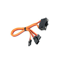 JR Connector RC Aircraft Switch Harness with Charge Lead