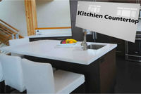 Kitchen countertop artificial stone island
