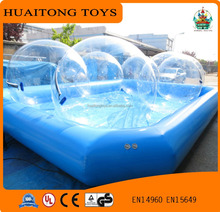 customized size completely transparent jumbo water ball inflatable water walking ball