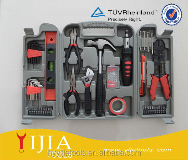 129pcs South American type tool <strong>kit</strong> with plastic box