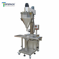 High Quality Semi Auto Auger Powder Filling Machine For Milk Powder