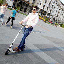 shock absorption electric scooter with horn alert function