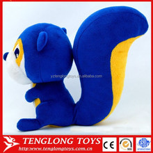 oem factory new product development of plush toy squirrel plush toys