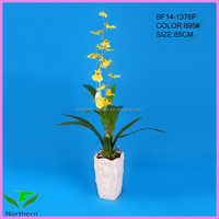 artificial flowers dancing orchid