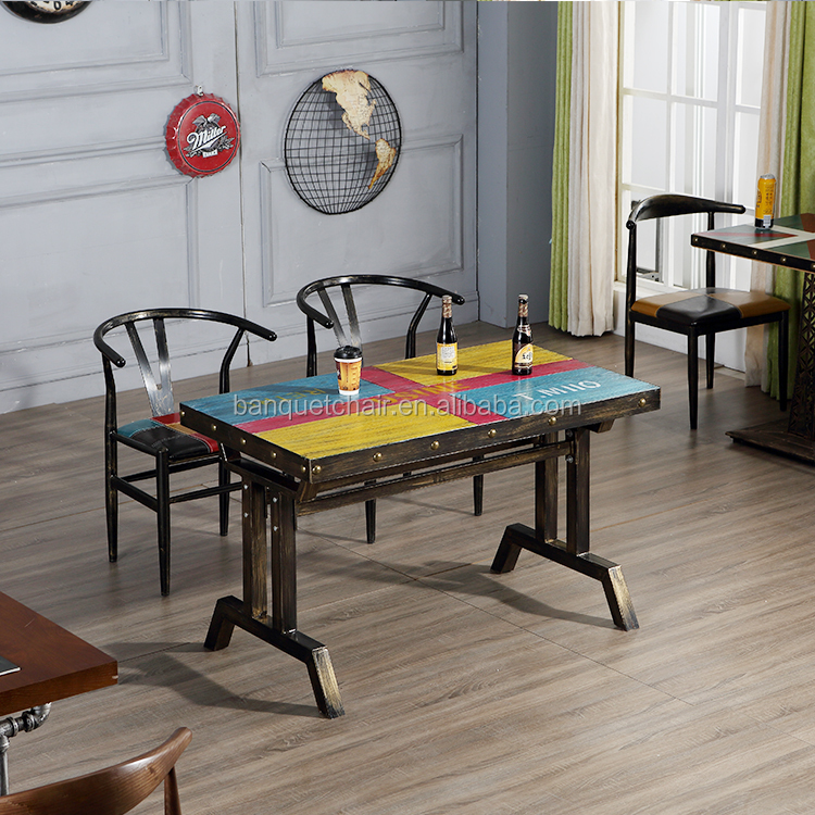 Customized Modern Natural Solid Wood Dining Table