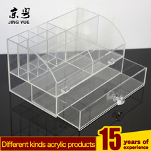 wholesale simple cheap acrylic cosmetic box jewelry display,Excellent acrylic makeup display cosmetic cases