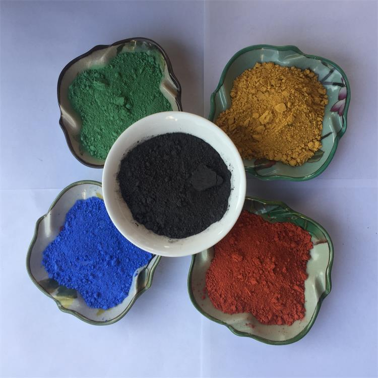 Promotional inorganic green powder pigment used in ceramic floor and wall tiles black indoor coating