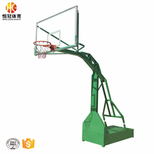 Tempered glass board basketball hoop stand base
