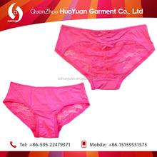 wholesale China Supplier Cute candy Young ladies panties sexy lace bamboo underwear girls QUANZHOU export