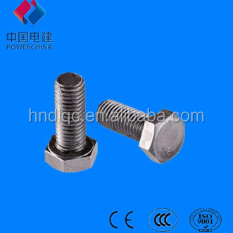 8.8 grade GB/T High strength Hexagon bolts with nut &washer