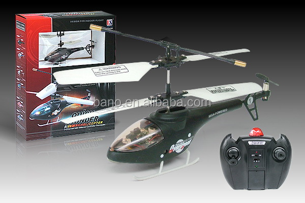 LS Model 6009 3CH Metal Sculls RC Helicopter BNR100842