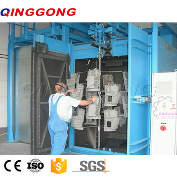 Radiator Shot Blasting Machine/Hook abrator/blast cleaning equipment