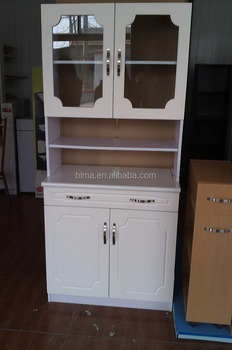 Tall Microwave Cabinet with Door