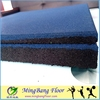 Factory supply cheap price recycled rubber mat floor for gym and fitness