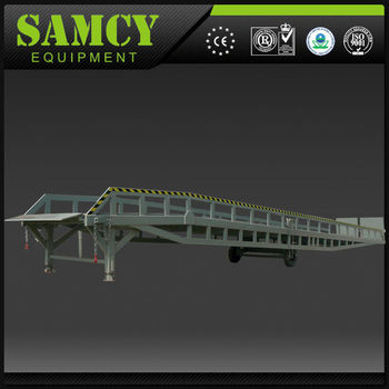 SAMCY Equipment Official Manufacture 6 Ton Mobile Hydraulic Dock Leveler