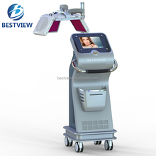 CE approval BM666 hottest sale laser hair regrowth/electric stimulator hair regrowth machine