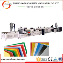 High quality PE PP PC Hollow Grid sheet extrusion line hollow sheet making machine from CAMEL Machinery