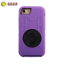 Heavy duty shockproof waterproof tough hard case for iphone 8 belt clip case pc silicone