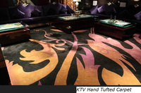Wall to Wall HandTufted Carpet for KTV Room 001