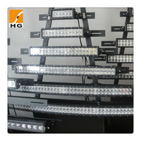 High quality 50 inch CREE Combo Radius curved led light bar for trucks,off road,mini jeep,bus