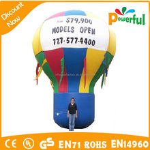 Great for Grand Openings! Multi-Color Hot Air Shaped Balloon