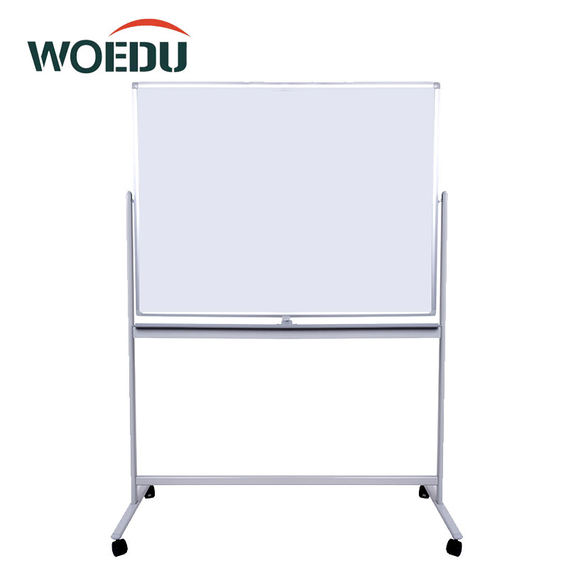High Quality Office Double Side Reversible Mobile Flip Chart Dry Erase Magnetic Whiteboards