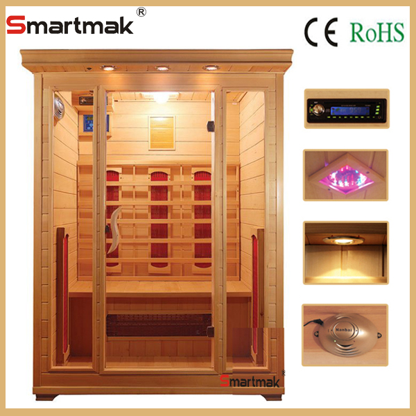 Finnish luxury mini traditional far infrared saunas cabin factory sales