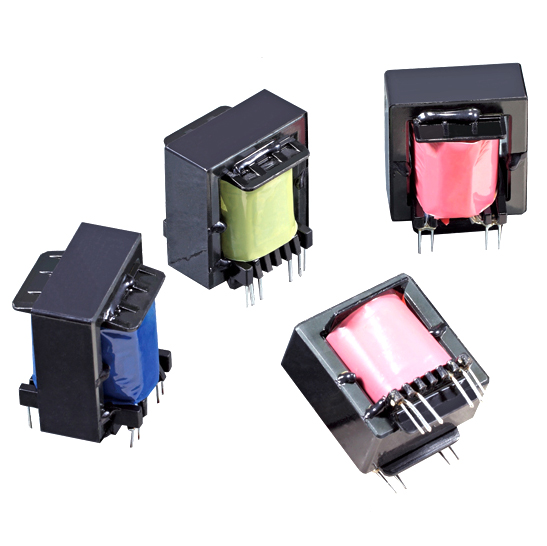 Customized EE55 Single Phase High Frequency Transformer For Power Supply