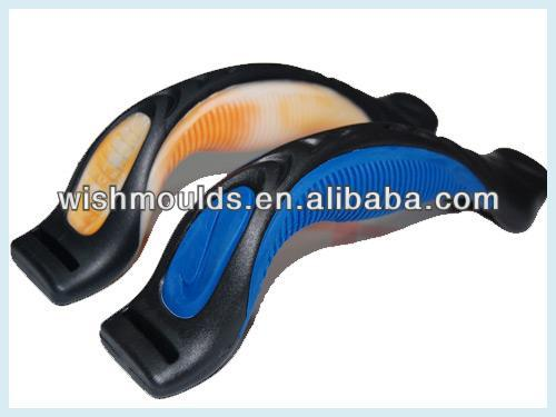 Plastic overmoulding Suppliers TPE/TPR Overmold Handle for Bags