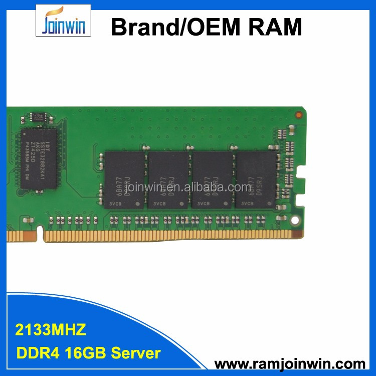 Joinwin 2133MHZ Dual Rank*4 ddr4 16gb server ram manufacturer from China