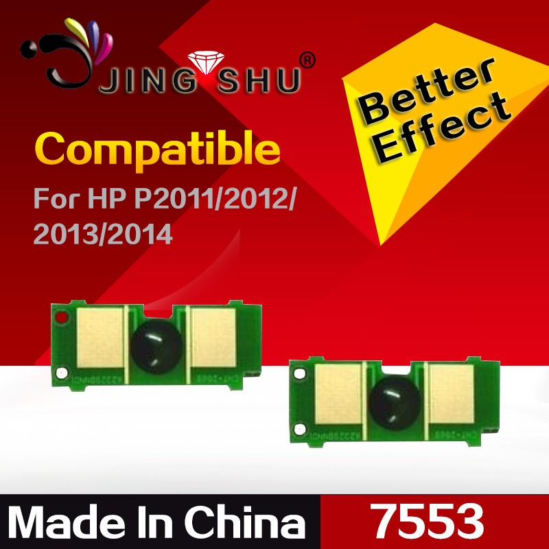 Universal printer chips 53A for Hp laserjet LaserJet P2011/P2012/P2013/P2014/P2015/P2015d/P2015n/P2015dn/M2727/Q7553A/7553