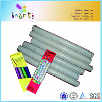 Transparent glue self adhesive polyester film heat-resistant self adhesive pvc film for package