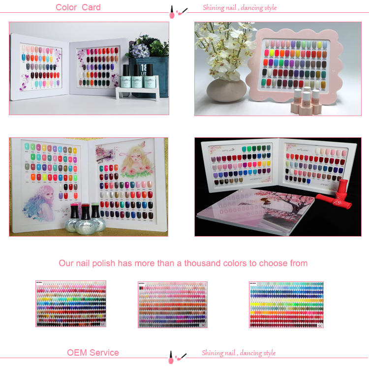 Factory Provide Colorful Polish Gel