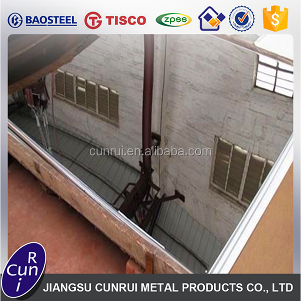 Professional mirror polish stainless steel sheet 430 Price With Mill Test Certificate