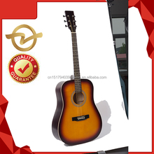 OEM famous global acoustic promotional peerless folk guitar for sale