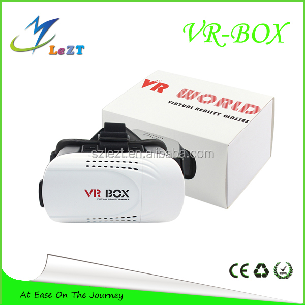 LeZT 2016 Blue Sex Hot Films Video Vr Box Glasses Vr Box 2.0 Version 6 Vr Virtual Smart Bluetooth Remote Control Gamepad Reality